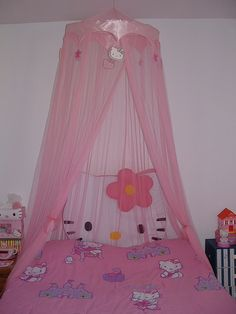 Hello Kitty Bedroom Decor Unique Hello Kitty Room Perfect for Meggan Kids Rooms Hello Kitty Bedroom, Cat Bedroom, Dream Bedroom, Bedroom Decor, Bedroom Ideas, Hello Kitty Themes, Daddy Dom Little Girl, Kawaii Room, Pink Bedrooms
