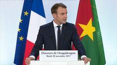 """""""Il n'y a plus de politique africaine de la France"""", déclare Macron au Burkina Faso"""