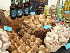 Food Stall - Garlic - Local Produce - Mold Food & Drink Festival