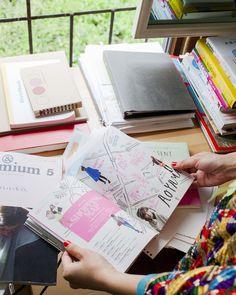 Australian illustrator Grace Lee, in her Tokyo studio Smash Book, Map Mind, Snap Photography, Artist Sketchbook, Magazine Illustration, Scrapbook, Film Books, The Design Files, Hobonichi