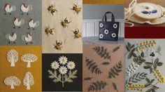 Higuchi Yumiko Embroidery designs WOOL STITCH by PinkNelie