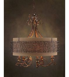 John Richard Dache 5 Light Chandelier in Hand-Painted AJC-8707 | Lighting New York