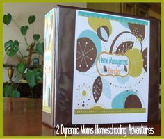 home management binder - wow, this lady did everything!!!