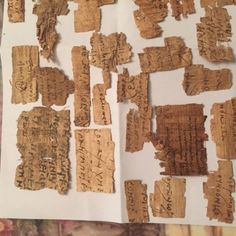 Greek-Roman-Or-Coptic-Rare-Egyptian-PAPYRUS-TEXT-FRAGMENTS eBay 222060134383 Seller: ebuyerrrr, based in Turkey. Starting bid £1,378.22 21/3/2016 Re-advertised as 222076403289 although not stated, sold for 500 $ on 8 April 2016