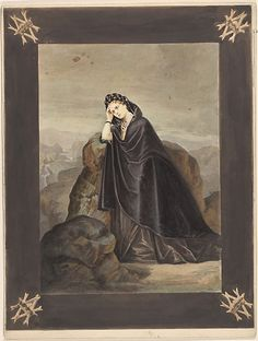 "Béatrix  Pierre-Louis Pierson  (French, 1822–1913)  Artist: Painted and retouched by Unknown, French Date: 1856–57, printed 1861–67  Inscription: Inscribed in ink on mount, verso TC: ""Comtesse de Castiglione""; Inscribed in pencil on mount, verso C: ""91 [boxed]"""
