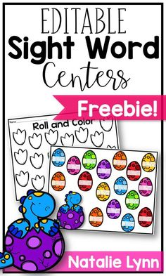 This free sight word center is the perfect addition to your word work or literacy centers! You can type in ANY sight word and it automatically generates sight word games perfect for your preschool, kindergarten, or first grade students! Teaching Sight Words, Sight Word Practice, Sight Word Games, Sight Word Activities, Differentiated Kindergarten, Kindergarten Reading, Kindergarten Activities, Preschool Centers, Literacy Centers