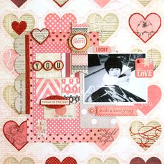 """MME Lost & Found Record It Heirloom : """"Adored"""" Glittered Paper, """"Formal"""" Paper, """"Sweet"""" Paper, """"Beautiful"""" Paper, """"Glamorous"""" Paper, 12x12 Sticker Sheet, 12x12 Chipboard Elements, Decorative Brads, Layered Stickers"""