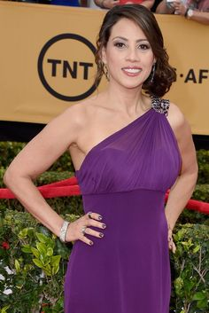 Pin for Later: See the Orange Is the New Black Cast Out of Their Jumpsuits Elizabeth Rodriguez in Real Life