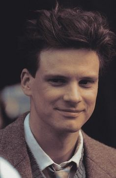 young Colin Firth by Eva0707