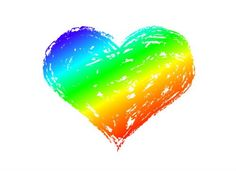"""Rainbow Heart Temporary Tattoo, Set of 2 - 1 ½"""" x 1 ½"""". Tattoo Size 1 ½"""" x 1½"""". Set includes 2 temporary tattoos. Easy to apply with water. Remove with any household oil. Perfect wrist accessory."""