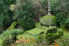 The Tortoise and Whale, Bomarzo Gardens Italy