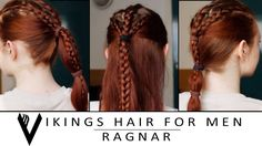 Vikings Hair Tutorial for Men - Ragnar Lodbrok
