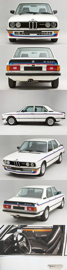1980 BMW M535i / Motorsport / white blue red / Germany / 17-209