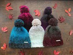Basic Beanie - Crochet Beanie - Handmade Hat by FiberVibes on Etsy