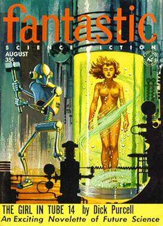 Fantastic Science Fiction  (Aug 1955)