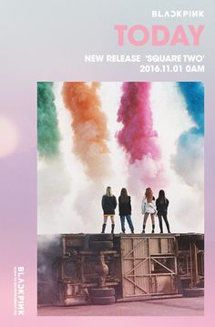 BlackPink teaser image for Square Two Music Cover Photos, Music Covers, Yg Entertainment, K Pop, Yg Life, Square Two, Hip Hop, Blackpink Funny, Blackpink Members