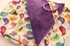 I like the ring in the corner . Baby Blanket Trendy Birds and Purple Cuddle Fabric 30 x 34 inches Generation Gap, Custom Items, Cuddle, Printing On Fabric, Baby Shower Gifts, Cool Stuff, Stuff To Buy, Cute Babies, Corner