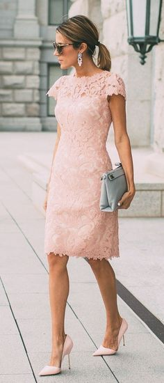 Lace Dress Outfits | Summer business style