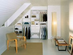California Closets Tip: How to Create Storage with Stairs & Angles