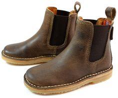 Koen leather boys boots