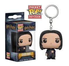 Harry Potter: Professor Snape Pocket Pop keychain by Funko