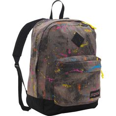 JanSport Super FX Series Backpack (68 CAD) ❤ liked on Polyvore featuring bags, backpacks, black, school & day hiking backpacks, quilted backpack, jansport rucksack, black bag, black rucksack and padded backpack