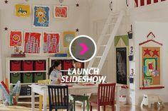 10 Life Hacks That'll Make Organizing The Kids' Playroom A Breeze | Elizabeth Street