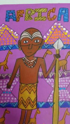 African art by baimon