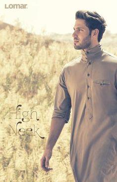 High Neck Mens Shalwar Kameez, Kurta Men, Islamic Fashion, Muslim Fashion, Mens Fashion, Ethenic Wear, Kurta Style, Muslim Men, Islamic Clothing