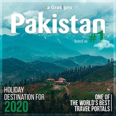 Pakistan named the top holiday destination for travelers for the year 2020 by the United States-based luxury and lifestyle publication Conde Nast Traveler Advertising Campaign, Brand Design, Holiday Destinations, Creative Design, Pakistan, Digital Marketing, United States, Branding, Social Media