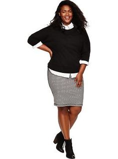 Plus size outfits old navy are a brand that man women will know of and certainly love;with their affordable prices, lovely designs and style tips and techni Preppy Outfits, Curvy Outfits, Office Outfits, Plus Size Outfits, Winter Outfits, Teacher Outfits, Winter Clothes, Office Wear, School Outfits