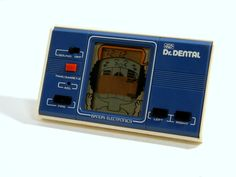 80s Retro Bandai LCD Game Watch Dr. Dental MIJ 1981 Great Condition_39 #Bandai