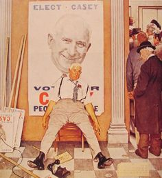 Before and After by Norman Rockwell #art