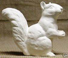 This Ceramic Bisque Squirrel with Nut is form the Scioto Mold collection 2073 Ready To Paint. This Squirrel with Nut will look great in your Yard or Garden even around the Pond and can even be placed in the house if you like. Pottery Painting, Ceramic Painting, Painted Ceramics, Ceramic Bisque, Squirrel, Sculpting, Garden Sculpture, Craft Supplies, Outdoor Decor