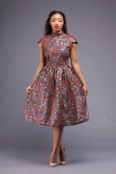 Limited Kansimme Dress by AfroGrassFields on Etsy