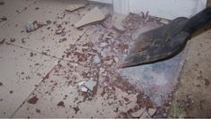 How to demolish tile to prepare for new flooring
