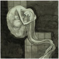 The beauty of the pregnant woman by Corina Rosca, via Behance