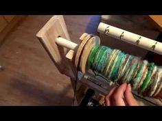 (98) DIY Spinning Wheel - YouTube Diy Spinning Wheel, Hand Spinning, Basic Tools, Woodworking Skills, Hand Dyed Yarn, Fiber Art, Knitting, Crafts, Dyeing Yarn
