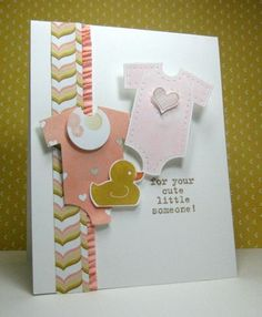 Something for Baby - Stamps, Paper, and Ink