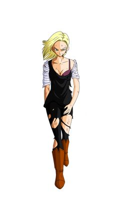 Android 18 Sexy Dbz by ChibiDamZ on DeviantArt Dragon Ball Z, Psg, Manga Anime, Anime Art, Krillin And 18, Z Warriors, Cartoon Crazy, Wrestling Stars, Avengers