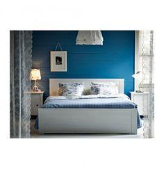 IKEA BRUSALI Bed Frame 150x200cm White
