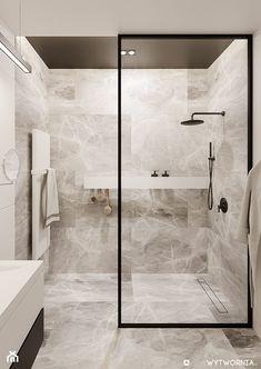 Modern Luxury Bathroom, Bathroom Design Luxury, Modern Bathroom Decor, Small Luxury Bathrooms, Bathroom Ideas, Minimalist Bathroom, Dream Bathrooms, Washroom Design, Toilet Design