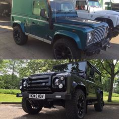 All complete - Before and after  after a @cskautomotive complete make over #landrover #landrovers #landroverdefender #landroversoflondon #defender90 #defender110 #defender130 #jaguarlandrover #offroad #hunting #fishing #shooting #lifestyle #outdoors #autobiography #automotive #topgear #celebritycars #luxury #supercar #supercars #london #essex #hertfordshire #unitedarabemirates #dubai by cskautomotive All complete - Before and after  after a @cskautomotive complete make over #landrover…