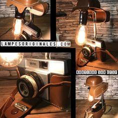 Voici ce que je viens d'ajouter dans ma boutique: Lampe orignale deco ancienne appareil photo vintage deco loft vintage photograph lampesoriginales.com #etsy #articlespourlamaison Lampe Photo, Photo Vintage, Ajouter, Bedroom Themes, Voici, Light Bulb, Steampunk, Lamps, Palette