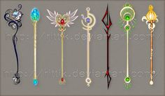 Staffs are interesting and come in many shapes and forms. They can be any colour or shape