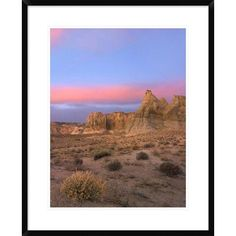 Global Gallery 'Kaiparowits Plateau, Grand Staircase, Escalante National Monument, Utah' Framed Photographic Print Size: