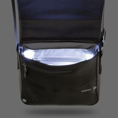 Bag with light inside, provides light with LED technology to find what you want with just touch of a button.