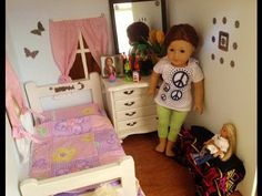 American Girl Doll House Tour by Saige Copeland - YouTube