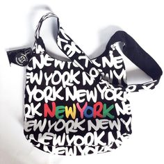 NWT New York Crossbody Bag New with tags: New York motif Crossbody bag. Same appearance front and back. (Authentic product of New York) Robin Ruth Bags Crossbody Bags