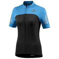 Adidas womens supernova #black/blue #short sleeve full zip cycling #jersey g82331, View more on the LINK: http://www.zeppy.io/product/gb/2/131857391079/